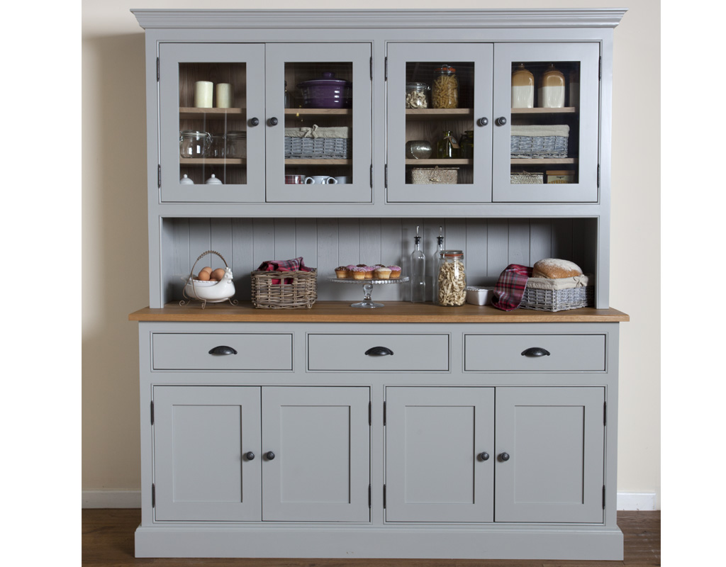 Bespoke-glazed-dresser-painted-lamp-room-gray-2