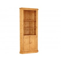 Bespoke Combination 2 Door Tall Corner Cupboard