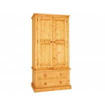 Bespoke Combination 2 Drawer gents press large wardrobe