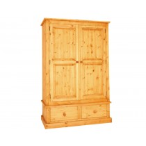 Bespoke Combination 2 Drawer Double Wardrobe